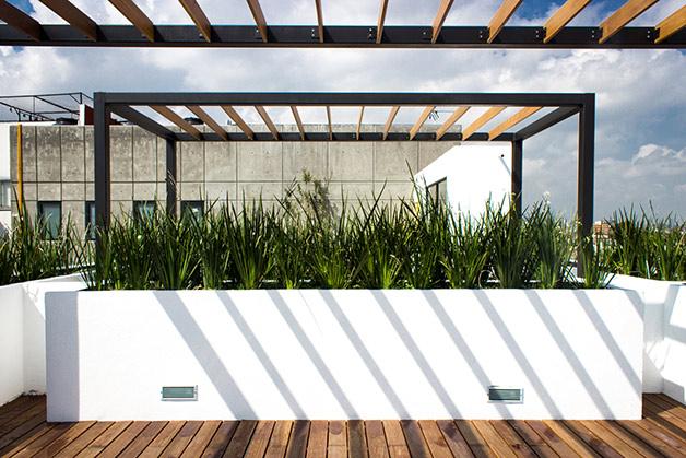 Ciudad vertical vertiz 950 - Techado de terrazas ...